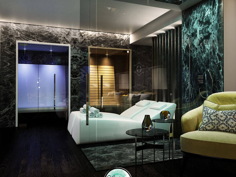 Install a wellness center in a hotel, in an accomodation and in a bed & breakfast